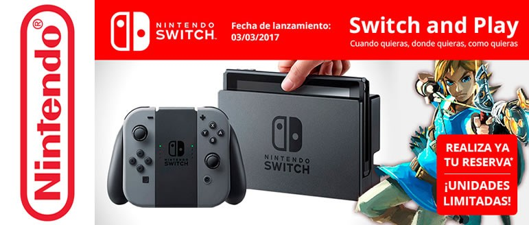 NINTENDO SWITCH IS HERE